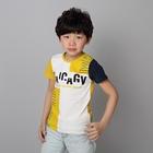 เสื้อแขนสั้ัน-Barcode-สีเหลือง-(5ตัว/pack)