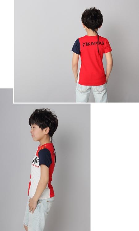 เสื้อแขนสั้ัน Barcode สีแดง (5ตัว/pack)