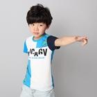เสื้อแขนสั้ัน-Barcode-สีฟ้า-(5ตัว/pack)
