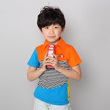 เสื้อโปโล Mr.Lee สีส้ม (5 ตัว/pack)
