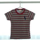 เสื้อแขนสั้ัน-Polo-ลายขวาง-3-สี-(5ตัว/pack)