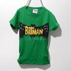 เสื้อแขนสั้ัน-Batman-Hero-สีเขียว-(5ตัว/pack)