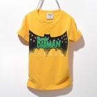 เสื้อแขนสั้ัน-Batman-Hero-สีเหลือง-(5ตัว/pack)