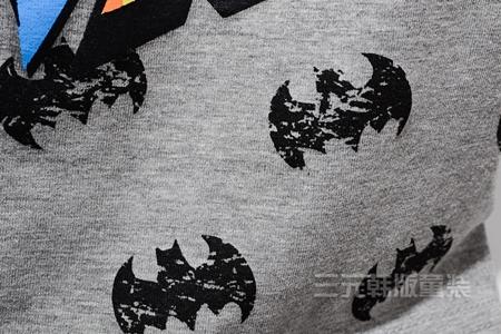 เสื้อแขนสั้ัน Batman WHAM สีเทา (5ตัว/pack)