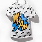 เสื้อแขนสั้ัน-Batman-WHAM-สีขาว-(5ตัว/pack)