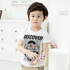 เสื้อแขนสั้ัน-Discover-สีขาว-(5ตัว/pack)