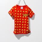 เสื้อแขนสั้ันเป็ดเหลือง-สีแดง-(5ตัว/pack)