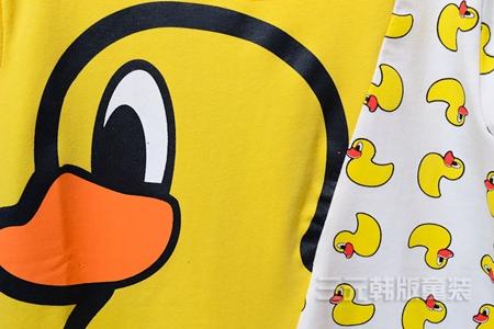 เสื้อแขนสั้ัน Big Duck สีเขียว (5ตัว/pack)