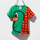 เสื้อแขนสั้ัน-Big-Duck-สีเขียว-(5ตัว/pack)