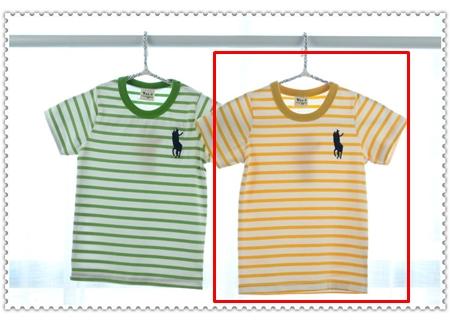 เสื้อแขนสั้ัน Polo Club สีเหลือง (5ตัว/pack)