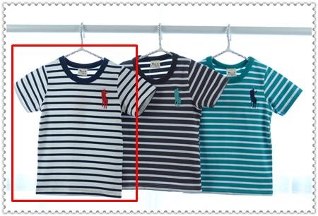 เสื้อแขนสั้ัน Polo Club สีกรมท่า (5ตัว/pack)