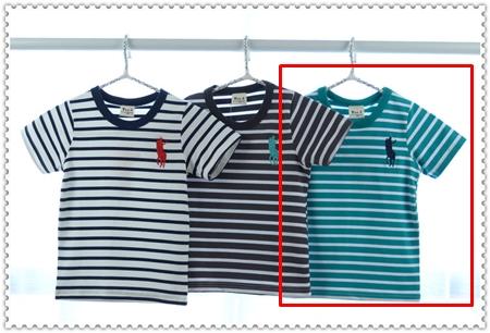 เสื้อแขนสั้ัน Polo Club สีเขียวเข้ม (5ตัว/pack)