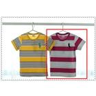 เสื้อแขนสั้ัน-Polo-สีเทาม่วง-(5ตัว/pack)