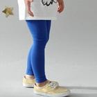 กางเกงเลกกิ้งขายาว-สีน้ำเงิน-(5size/pack)