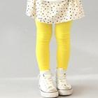 กางเกงเลกกิ้งขายาว-สีเหลือง-(5size/pack)