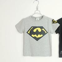 เสื้อยืดแขนสั้น-Batman-สีเทา-(5size/pack)