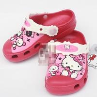 รองเท้าเด็ก-Hello-Kitty-สีแดง-(10-คู่/แพ็ค)