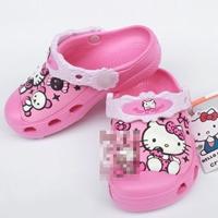 รองเท้าเด็ก-Hello-Kitty-สีบานเย็น-(10-คู่/แพ็ค)