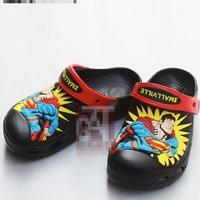 รองเท้าเด็ก-Superman-สีดำ-(10-คู่/แพ็ค)