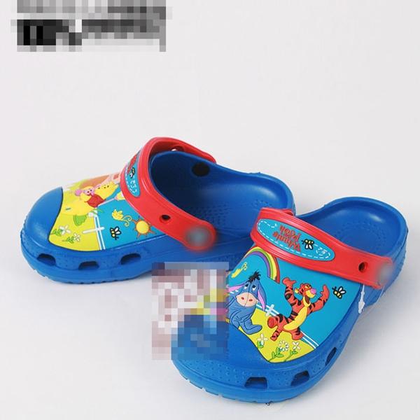 รองเท้าเด็กวินนี่แอนด์พูลล์ สีน้ำเงิน(10 คู่/แพ็ค)