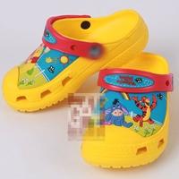 รองเท้าเด็กวินนี่แอนด์พูลล์-สีเหลือง-(10-คู่/แพ็ค)