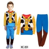 ชุดนอนหนุ่มคาวบอย-สีเหลืองฟ้า-(6-ตัว/pack)