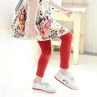กางเกงเลกกิ้งขายาว-สีแดง-(5size/pack)