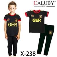 ชุดนอนนักฟุตบอลเยอรมัน-สีดำ-(6-ตัว/pack)