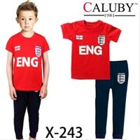 ชุดนอนนักฟุตบอลอังกฤษ-สีแดงกรม-(6-ตัว/pack)