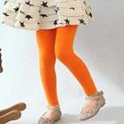 กางเกงเลกกิ้งขายาว-สีส้ม-(5size/pack)