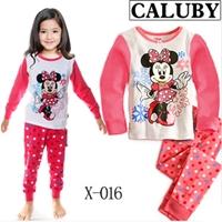 ชุดนอน-Minnie-Mouse-สีขาวแขนชมพู-(6-ตัว/pack)