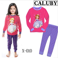 ชุดนอนเจ้าหญิงดิสนีย์-สีชมพูบานเย็น-(6-ตัว/pack)