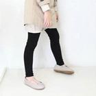 กางเกงเลกกิ้งขายาว-สีดำ-(5size/pack)