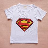 เสื้อยืดแขนสั้นSuperman-สีขาว-(15-ตัว/pack)