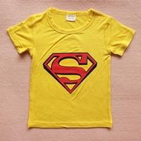 เสื้อยืดแขนสั้น-Superman-สีเหลือง-(15-ตัว/pack)