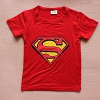 เสื้อยืดแขนสั้น-Superman-สีแดง-(15-ตัว/pack)