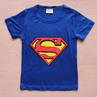 เสื้อยืดแขนสั้น-Superman-สีน้ำเงิน-(15-ตัว/pack)