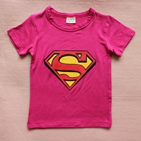เสื้อยืดแขนสั้น-Superman-สีบานเย็น-(15-ตัว/pack)
