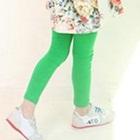 กางเกงเลกกิ้งขายาว-สีเขียว-(5size/pack)