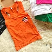 เสื้อกล้าม-Paul-Frank-สีส้ม-(20-ตัว/pack)