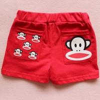 กางเกงขาสั้น-Paul-Frank-สีแดง-(10-ตัว/pack)