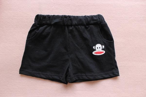 กางเกงขาสั้น Paul Frank สีดำ (10 ตัว/pack)