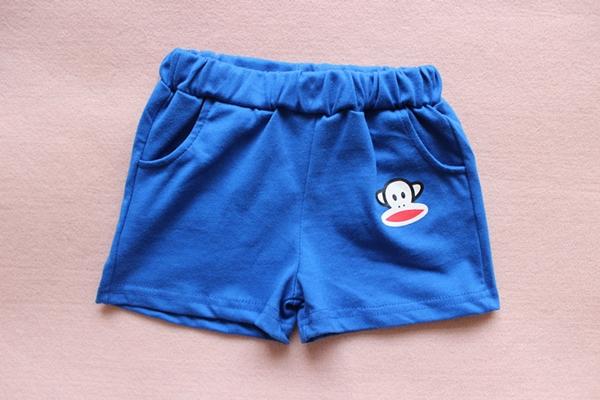 กางเกงขาสั้น Paul Frank สีน้ำเงิน (10 ตัว/pack)