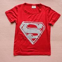 เสื้อยืดแขนสั้น-Superman-สีแดง-(10-ตัว/pack)