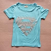 เสื้อยืดแขนสั้น-Superman-สีฟ้า-(10-ตัว/pack)