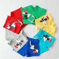 กางเกงขาสั้น-Mickey-Mouse-คละสี-(10-ตัว/pack)