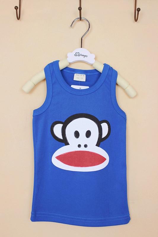 เสื้อกล้ามเด็ก Paul Frank คละสี (10 ตัว/pack)