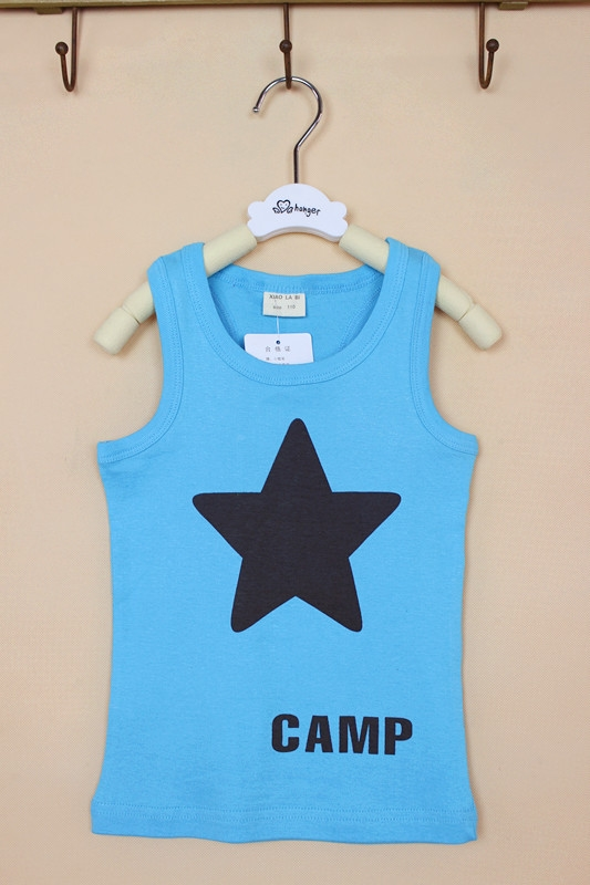 เสื้อกล้ามเด็ก Star Camp คละสี (10 ตัว/pack)