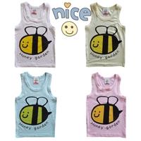 เสื้อกล้ามเด็ก-Happy-Garden-คละสี-(10-ตัว/pack)