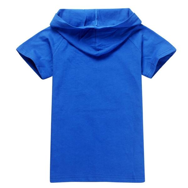 เสื้อยืดเด็กแขนสั้น Superman สีฟ้า (6 ตัว/pack)